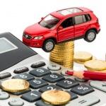 מודל של רכב, מחשבון ומטבעות