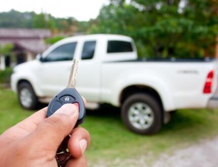 רכב מסחרי שיש עליו ביטוח צד ג'