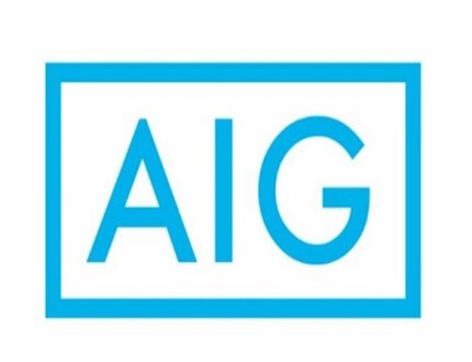 לוגו של חברת הביטוח AIG